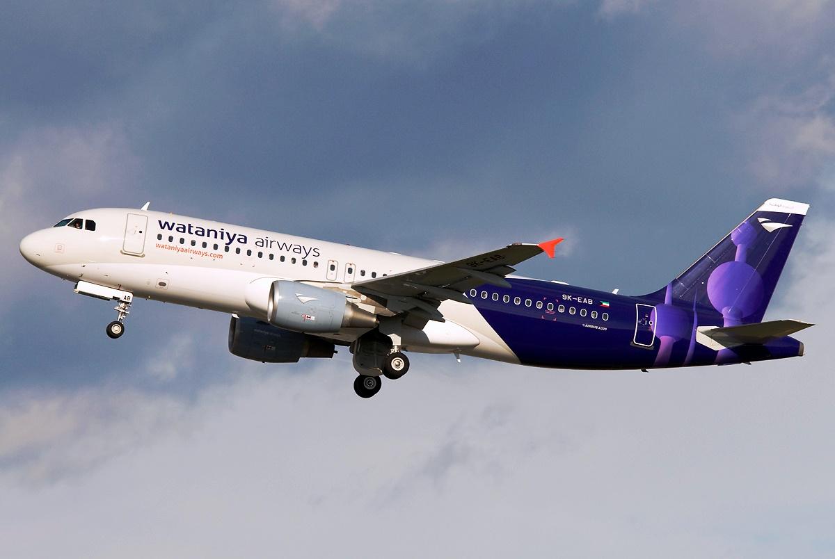 Wataniya Airways receives first Airbus A-320