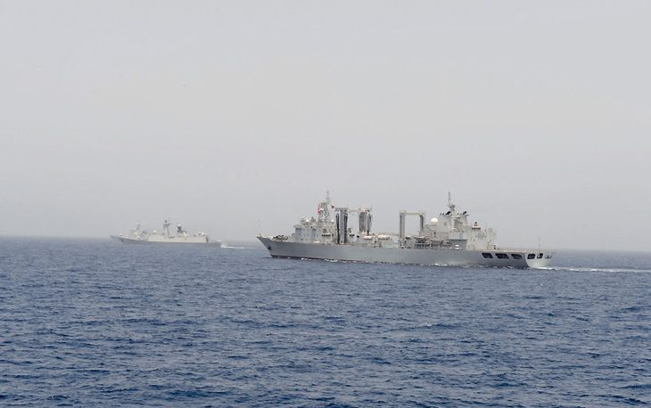 Oman and China vessels conduct joint naval exercise