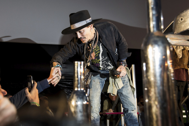 Johnny Depp courts controversy by suggesting Trump assassination