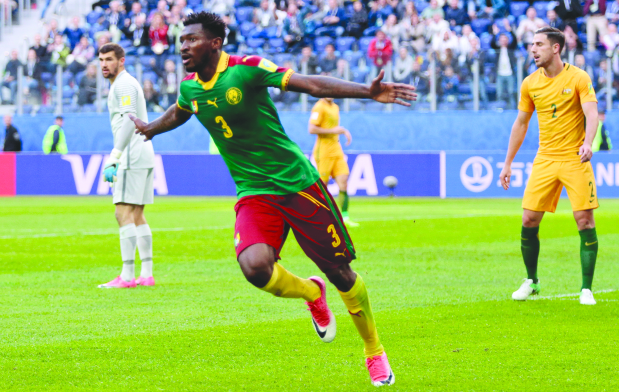 Aussies rally to hold Cameroon