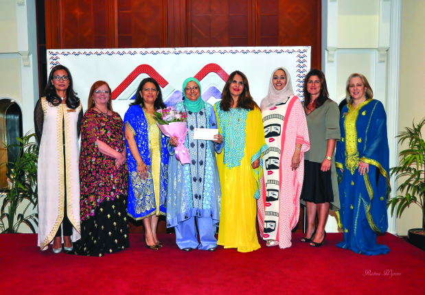 American Women's Association donated BD500 to Discover Islam