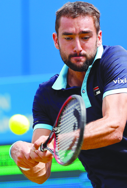 Cilic takes on Muller in last four showdown
