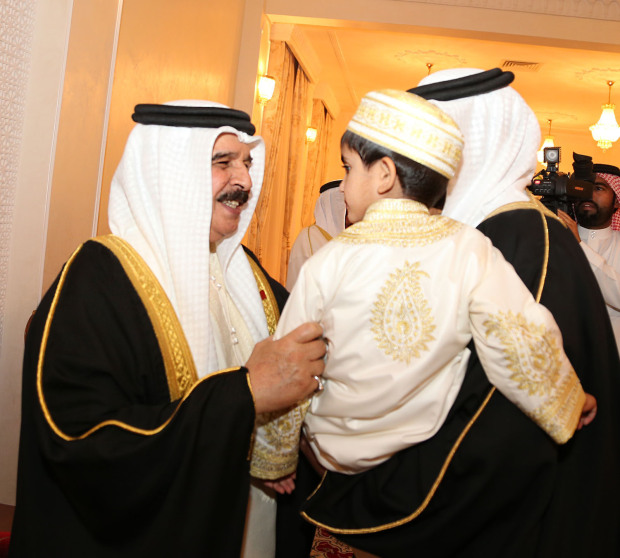 In Pictures: Bahrain an oasis of security, says King Hamad