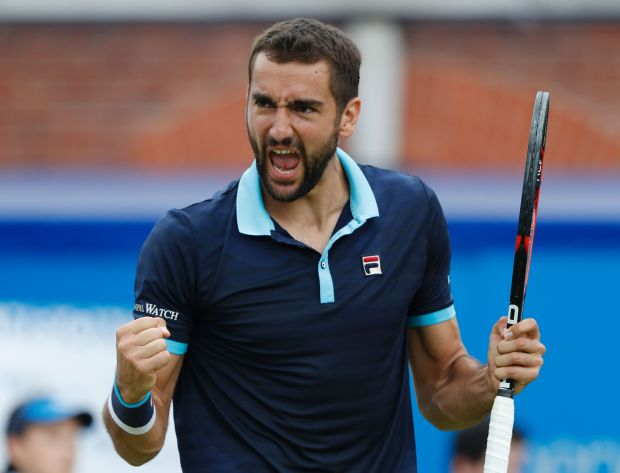 Cilic beats Muller in three sets, reaches Queen's final