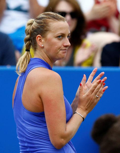 Kvitova cruises into final