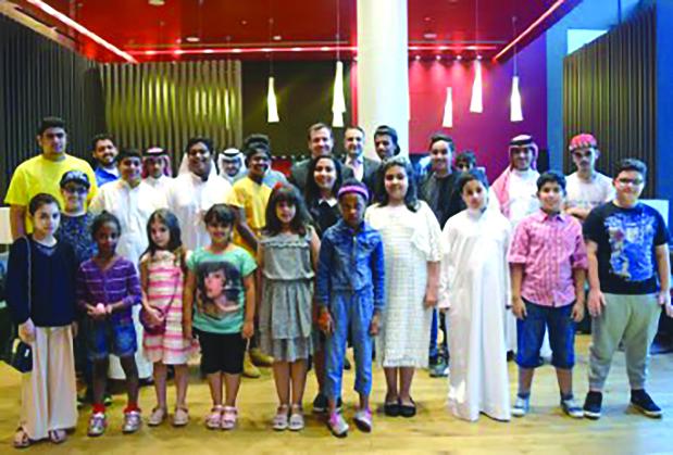 Downtown Rotana host children for Iftar buffet