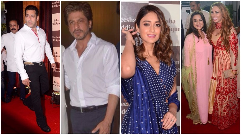 PHOTOS: Salman, Shah Rukh amongst other A-listers add glamour to Indian politician's Iftar party
