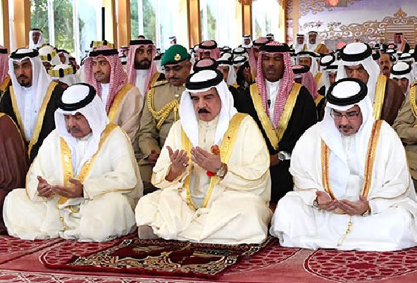 PHOTOS: King performs Eid Al Fitr prayers