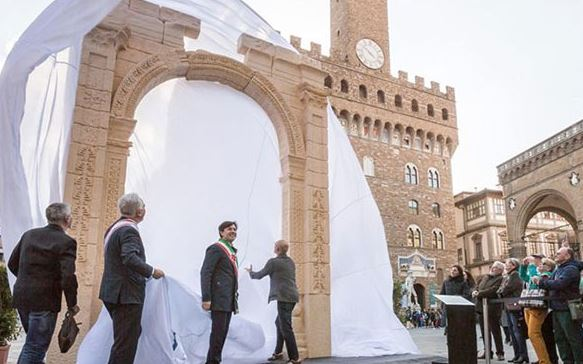 3D replica of Palmyra Arch draws two million visitors in two days