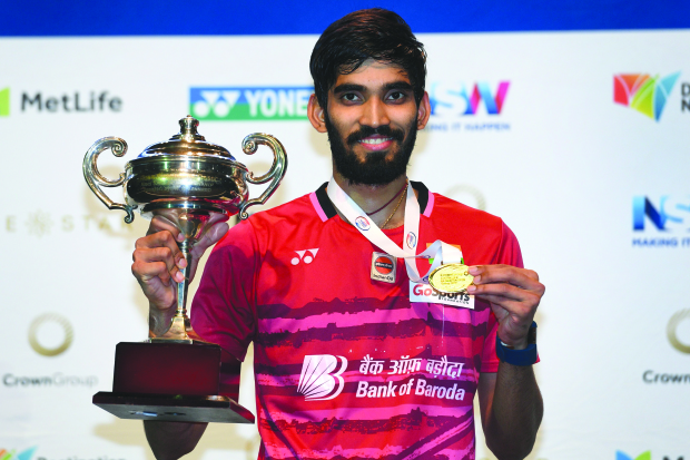 Srikanth claims Aussie Open title