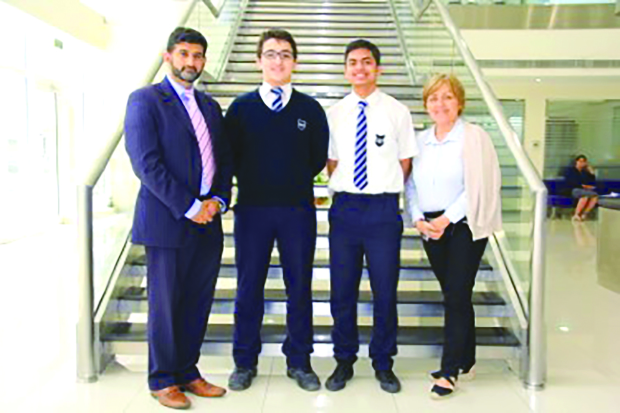 French Embassy grants scholarships to two British school students