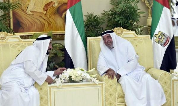 UAE leaders at Eid prayers