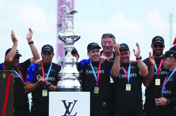 Euphoria: Emirates sail past Oracle to claim America's Cup