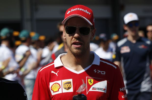 'Crazy' Vettel in line of fire over Baku road rage