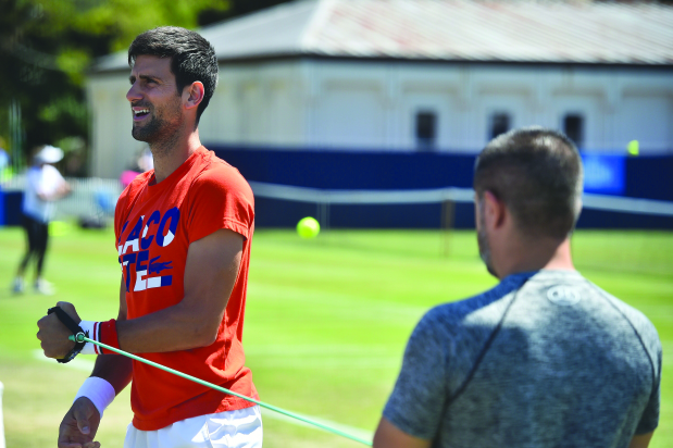 Djokovic defends wild card decision