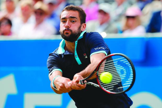 Cilic climbs up ATP list