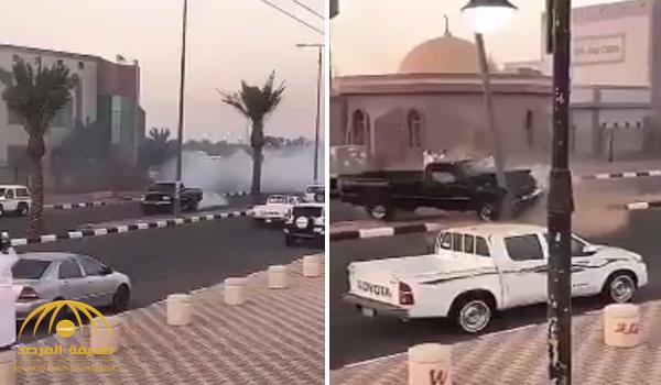 VIDEO: Stunt driver has narrow escape