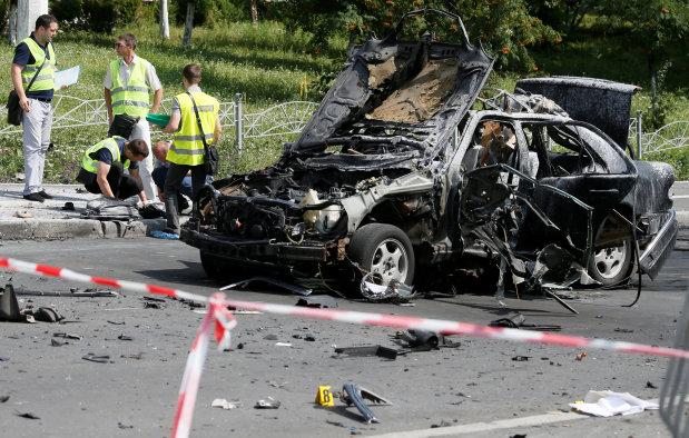 Senior Ukrainian intelligence officer killed in car bombing