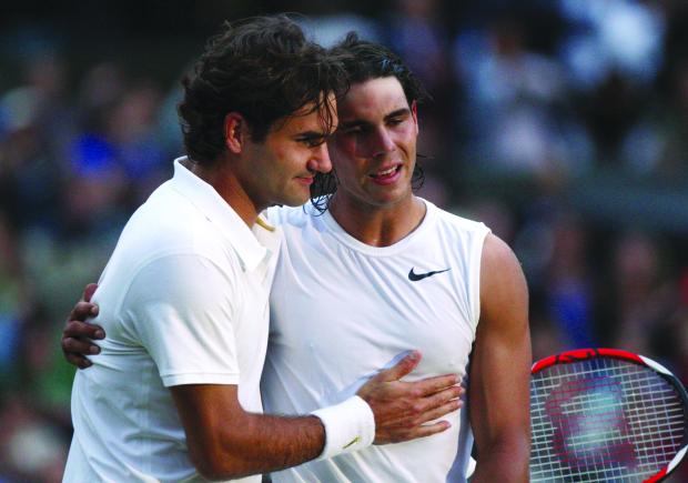 Federer and Nada leye fairytale final