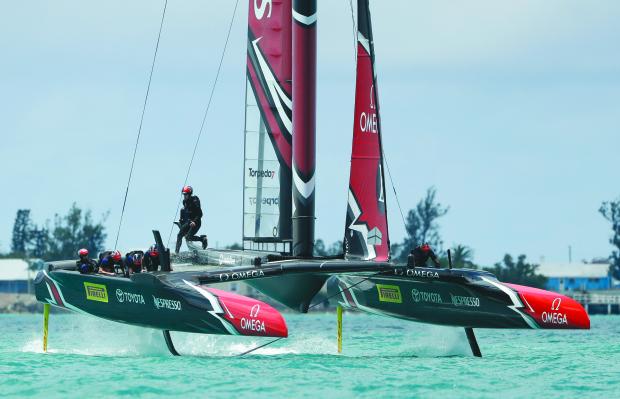 Kiwis won with 'damaged boat'