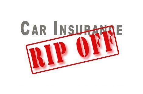 Car insurance rip-off!