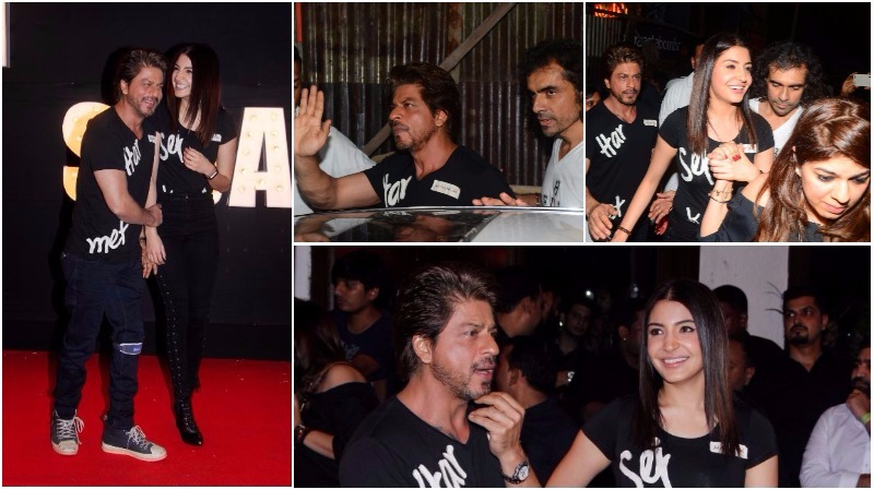IN PICTURES: SRK, Anushka go club hopping to promote new song from 'Harrry met Sejal'