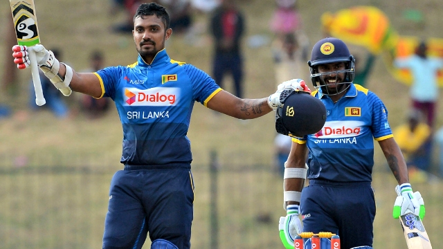 Dickwella and Gunathilaka tons give Sri Lanka big win over Zimbabwe
