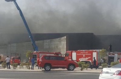 Blaze hits shopping mall in Kuwait; no injuries