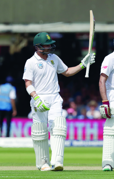 Elgar and Bavuma lead South African fightback