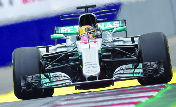 Hamilton handed 5-slot grid penalty at Austrian Grand Prix