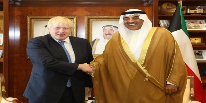 Britain backs Kuwaiti mediation