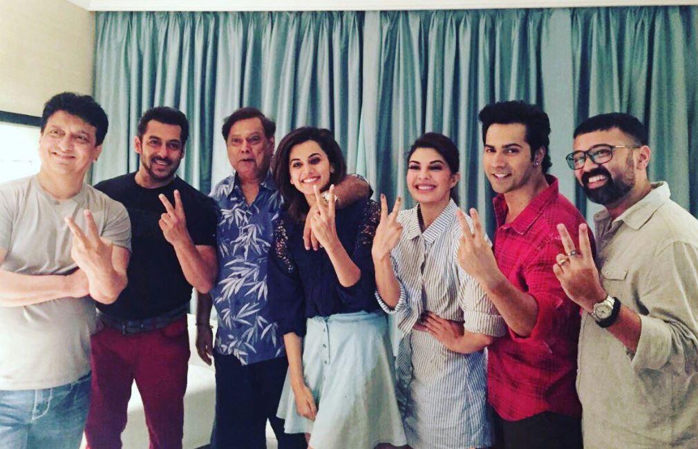 Salman Khan joins 'Judwaa 2' cast to shoot his cameo