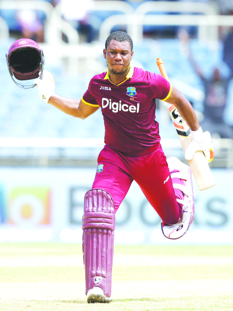 Lewis ton carries Windies past India in one-off T20 clash