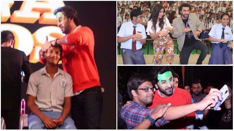 PHOTOS: Dance, hairdos & selfies - Ranbir, Katrina promote 'Jagga Jassos' in schools