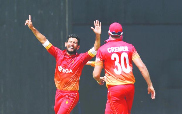 Zimbabwe claim historic ODI win