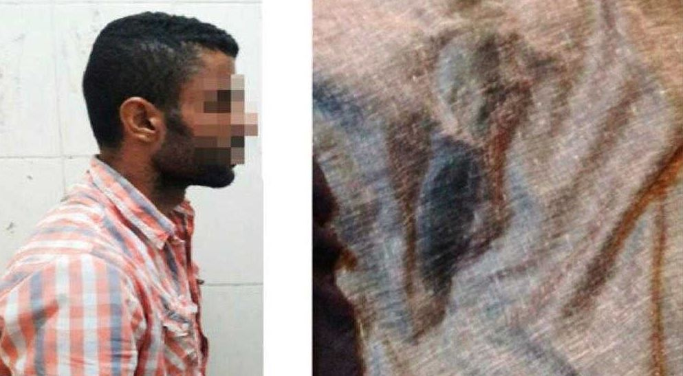 Arab national who sprayed women with acid arrested