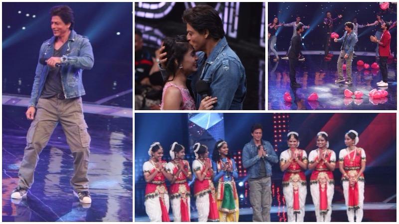 PHOTOS: Shah Rukh promotes 'Jab Harry Met Sejal' on dance show