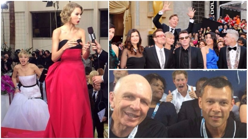From Jennifer Lawrence to Britain's Prince Harry: Best celebrity photobombs of all time!