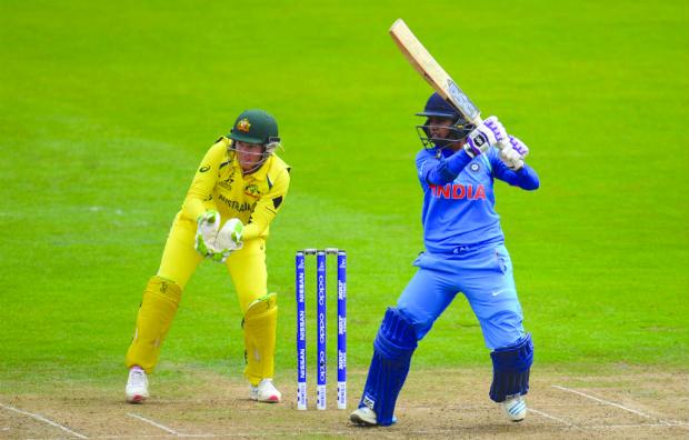 Indian women go down to Australia