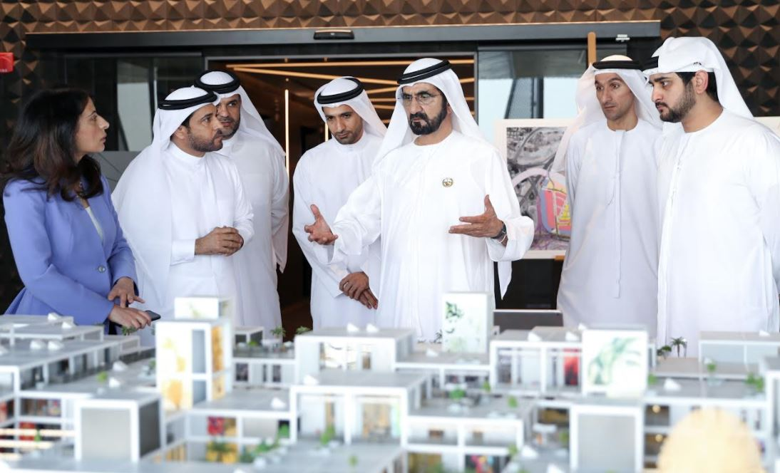 IN PICTURES: Dubai ruler visits Design District d3