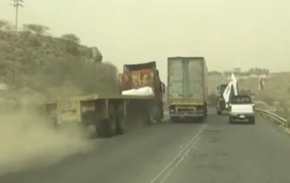 Two truck drivers deported over dangerous overtaking