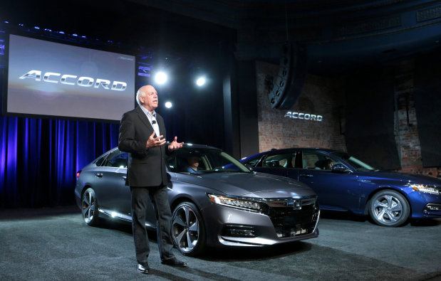 Honda unveils new Accord as midsize cars fall out of favour