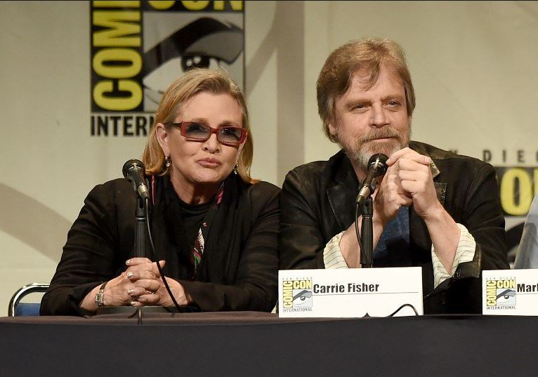 Mark Hamill and Carrie Fisher honoured as 'Legends' by Disney