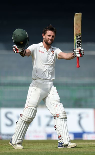 Zimbabwe recover as Ervine hits a huge ton