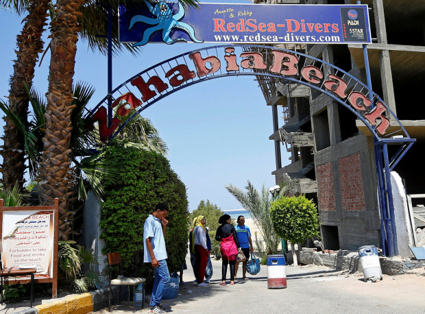 Egypt police probe motives of Red Sea beach attacker