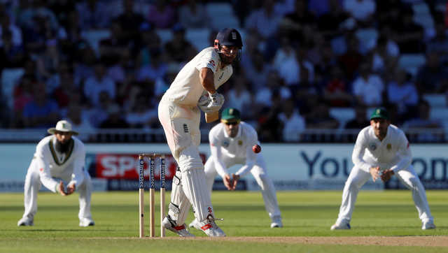 English batsmen slammed