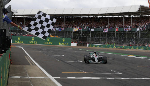 Hamilton leads Mercedes charge