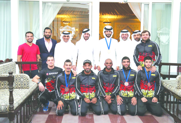 Bahrain fighters in world's top 100 list