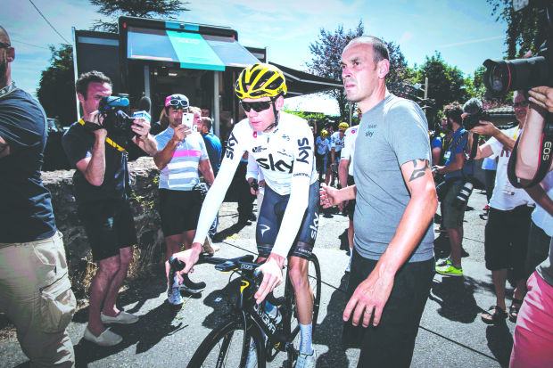 Froome ready to conquer tough Alps