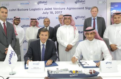 Bahri, Bolloré to establish new logistics joint venture